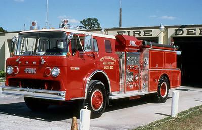 WEST HILLSBOROUGH FD FL  ENGINE 202  FORD C - FMC