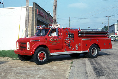 LANARK FPD  ENGINE 422  1969  CHEVY - ALEXIS   750-750     MARK MITCHELL PHOTO