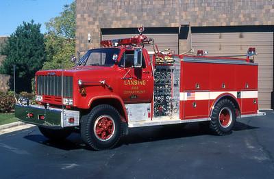 LANSING FD  ENGINE 104  1997  GMC - 3D   1000-500    #1914     GARY KADZ PHOTO