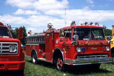 CORNBELT FPD - MAHOMET  ENGINE 50  1979  FORD C - ALEXIS   750-600   1981 ILLINOIS FIRE COLLEGE   GARY KADZ PHOTO
