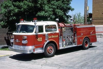 LA SALLE FD  SENGINE 411  1978  ALF CENTURY   1500-500   MARK MITCHELL PHOTO