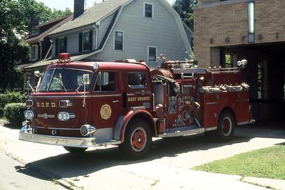 EAST ORANGE FD NJ  ENGINE 3  1968  ALF   1250-500   JDS PHOTO