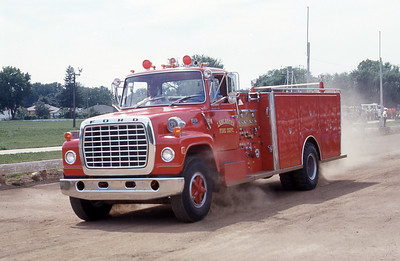 LANCASTER FD WI   ENGINE  FORD L - GENERAL SAFETY   AT 1975 MONROE FIRE SCHOOL   JDS PHOTO