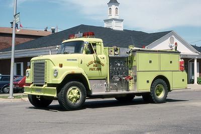 LACON SPARLAND FPD  ENGINE  1978  IHC FLEETSTAR 2050 - FMC   750-750   MARK MITCHELL PHOTO