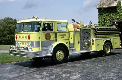 BARNARD FD NY  ENGINE 223  1978  HAHN   1250-500   LEO DULIBA PHOTO