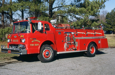 MURRAY FD KY  ENGINE 2  1972  FORD C - HOWE   1000-500