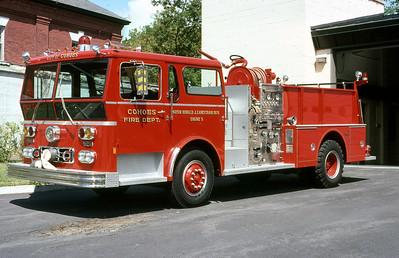 COHOES FD NY  ENGINE 5   1977  WLF   1250-500