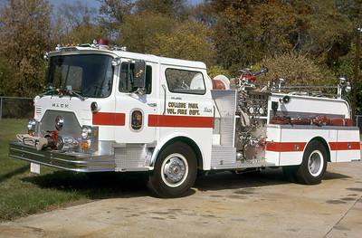 COLLEGE PARK FD  ENGINE  977  MACK CF   1250-500