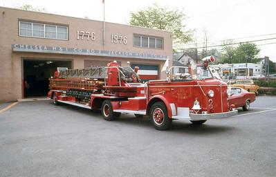 CHELSEA H&L 1 - NYACK NY  LADDER 418  1955  ALFCO   100' TDA