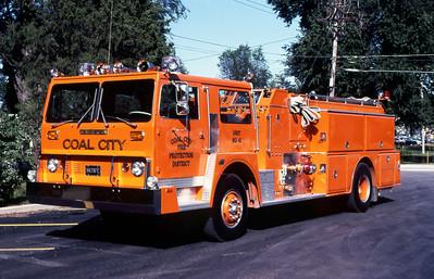 COAL CITY FPD  ENGINE 41  HENDRICKSON - HOWE
