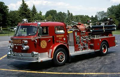 BARNARD FD - GREECE NY  ENGINE  222  1964  ALFCO   1000-500     LEO DULIBA PHOTO