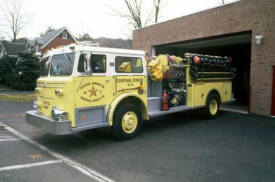 CENTRAL NYACK FD NY  ENGINE 2-1500  1975  MAXIM F   1500-500
