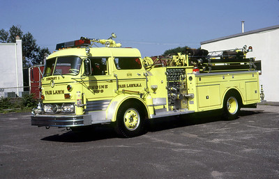 FAIR LAWN FD NJ  ENGINE 8  1866  MACK C95   1000-300     JOHN JAVORSKY PHOTO