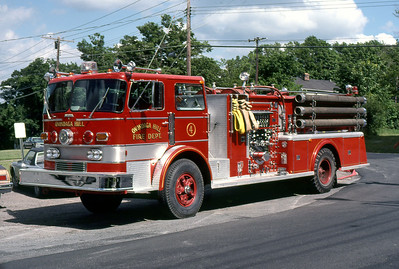 ONDONAGA FD NY  ENGINE 4  1971  SANFORD   1500-500