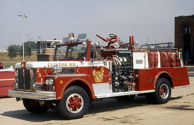 CLINTON FD MD  ENGINE 251  1973  MAXIM   1250-500