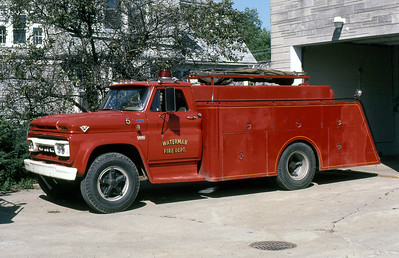 WATERMAN FD  TANKER 5  GMC - FD BUILT
