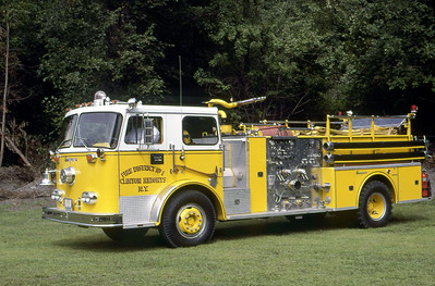CLINTON HEIGHTS FD NY  ENGINE  1974  SEAGRAVE  1000-500