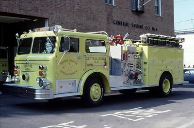 CENTRAL NYACK FD NY  ENGINE 2-1501  MAXIM F   1500-500
