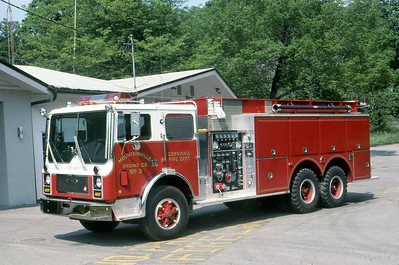 CORNWALL FD NY  ENGINE 3  1985  MACK MC - PIERCE   1000-2000