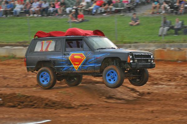 "62nd ANNUAL JEFFERSON COUNTY FAIR ""Tuff Truck & Car Contest"" 8-21-14"
