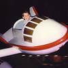 11. Flying at Disneyworld.