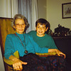 8. With his grandmother Pyron.