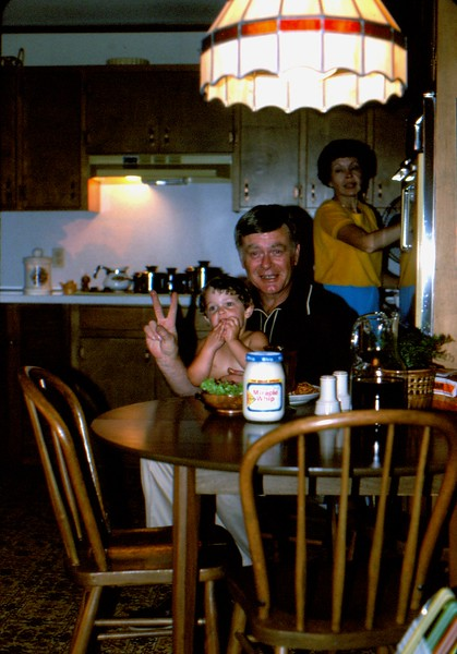 1. I'm sure Granddad and Meme came up early (or stayed late) to help out with the birthday party.