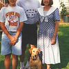 3. Our yellow lab Sundance was with us in those days.