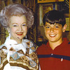 10. During the 1993 family vacation to California Dale Evans asked if I'd mind standing with her for a photograph. What could I say? Her hair was actually a little pinker than it appears here. Her first husband was a man named Fox, whose family lived in Humboldt in the 1910s and '20s.