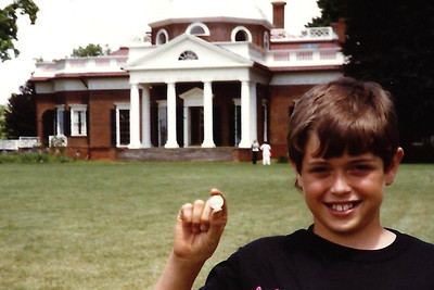 To Monticello in June 1990 (and April 2013)