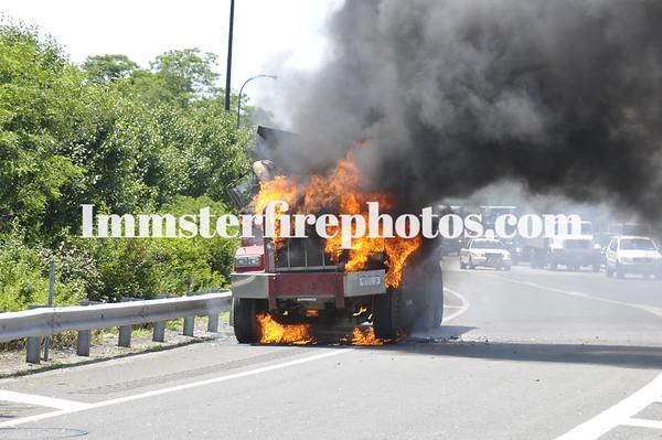 JERICHO FD TRUCK FIRE 6-30-09