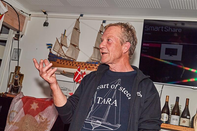 TARA-skipperen havde 22 veloplagte gaster ombord