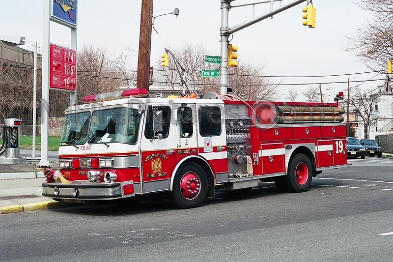 JERSEY CITY, NJ ENGINE 19