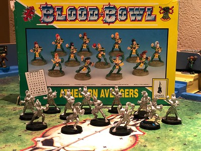 Wood Elf Blood Bowl team 50$