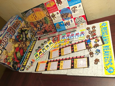 Original Blood Bowl game including Dungeon Bowl and Death Bowl ... missing some pieces ask for details