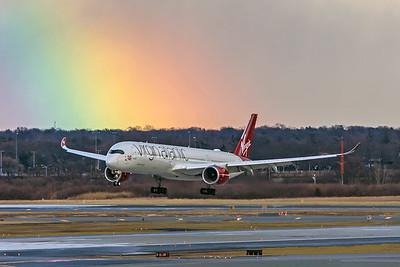 Virgin Atlantic Airways Airbus A350-1041 G-VPOP 2-7-20