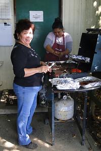 Elia & Elizabeth hard at work! Sept. 1st 2011