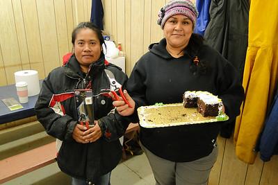 Congratulations Irene (20 years) & Juana (15 years) of slaving away at Greenhouse World!