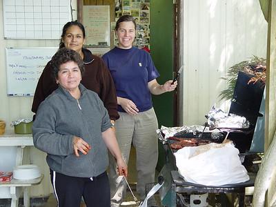 Elia, Juana & Marianela. May 24th 2007.