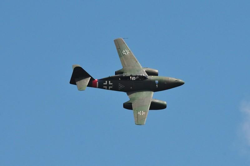 Germany's Messerschmit 262 jet of WW II