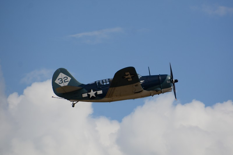 The Navy Curtis Helldiver! Used to dive bomb ships and any amphibian watercraft.