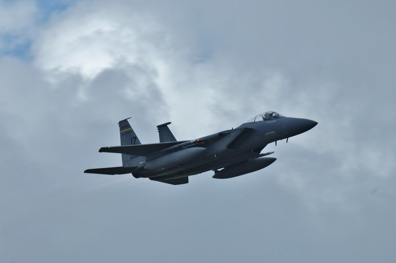 This was my second time to see an F-15 fly since the Nellis Air Show in Las Vegas.