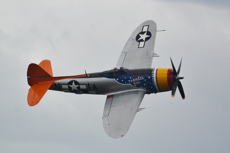 The P-47 Thunderbolt! Always loved seeing this plane in any WW II movie I could get my hands on.