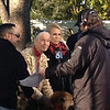 Dr. Goodall in an interview with KTLA Live during her time in Pasadena for the 2013 Tournament of Roses.