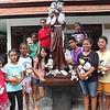 Roots & Shoots members at an orphanage in Bali run by Franciscan nuns.
