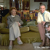 Dr. Jane Goodal with her mother, Vanne Goodall, at their home, the Birches, in Bournemouth, England.
