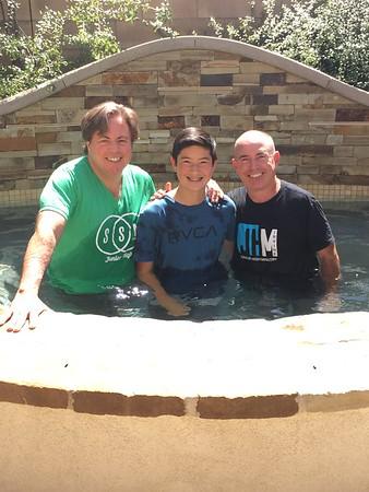 JHM Baptism pics