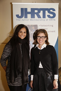 Bela Bajaria (Universal Television) (left) and Nina Tassler (CBS) (right)