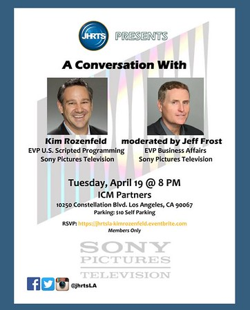 JHRTS A Conversation with Kim Rozenfeld and Jeff Frost (4/19)