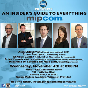 JHRTS An Insider's Guide to Everything MIPCom (11/4/15)